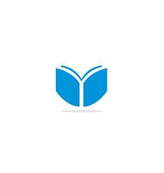 Book published logo vector