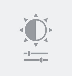 Brightness control vector