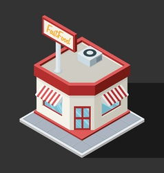 Fast Food Restaurant vector