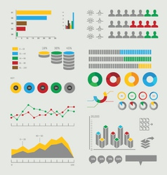 Infographic elements collection vector