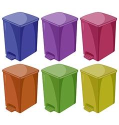 Trashcan vector image