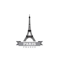 Paris france city symbol vector