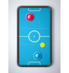 Air Hockey Table vector image