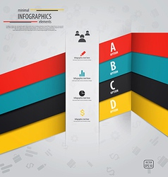 infographics design 10 vector image vector image