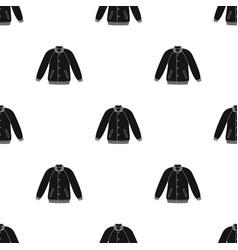 Uniform baseball jacket baseball single icon in vector