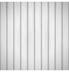 White Wood Background vector image vector image