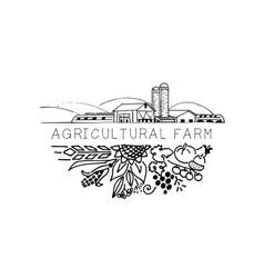 Agro logo vector