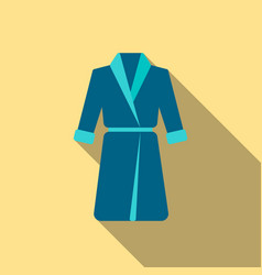 Bathrobe icon of for web and vector