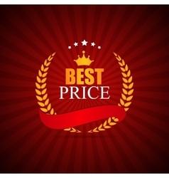 Best Price Label vector