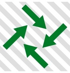 Centripetal Arrows Icon vector
