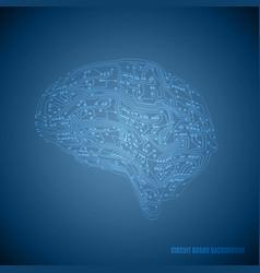 Circuit board brain vector