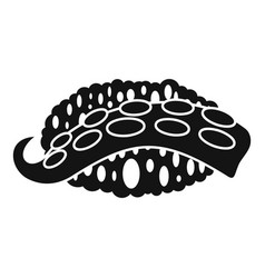 octopus sushi icon simple style vector image