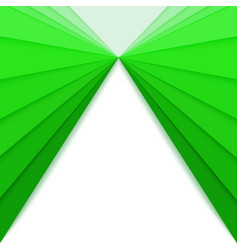 Paper cut out backdrop with green gradient idea vector
