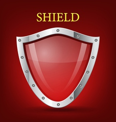 Shield symbol icon vector