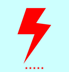 symbol electricity set it is color icon vector image