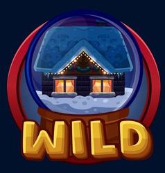 Symbol Wild vector image