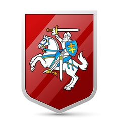 Coat of arms of Lithuania vector image