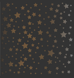 golden and silver pattern vector image