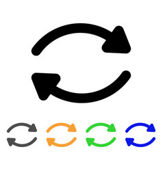 update stroke icon vector image vector image