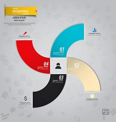 infographics design 16 vector image