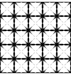 Star and square seamless pattern 1703 vector image