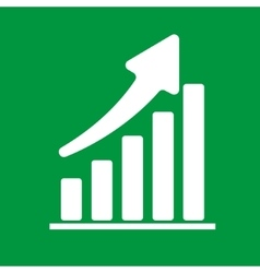 Business concept graph vector image
