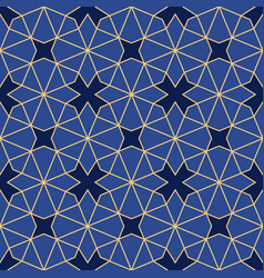 Islamic geometric ornament vector
