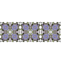 morocco seamless border vector image