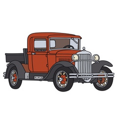Old pick-up vector image