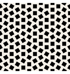 Seamless Black And White Jumble Squares vector