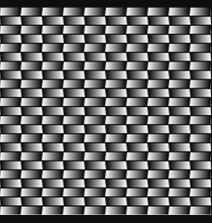 Seamless monochrome pattern with rectangles vector