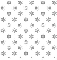 simple atom and molecule seamless pattern vector image