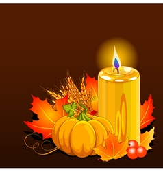 Thanksgiving Day Still Life vector