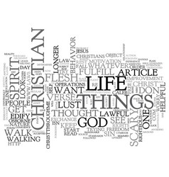 A scary thought for some text word cloud concept vector