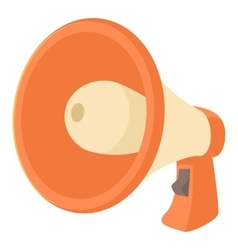 Loudspeaker icon cartoon style vector image vector image
