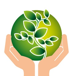 nature concept vector image