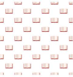 open book pattern vector image vector image