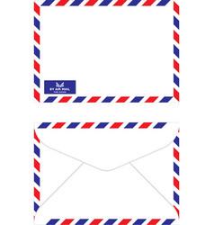 Air mail envelope vector