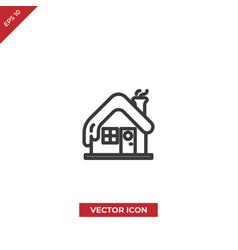 cabin icon vector image