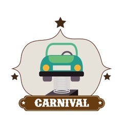 Circus carnival entertainment vector image
