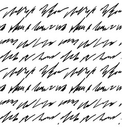 handwriting background seamless pattern grunge vector image