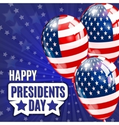 Happy Presidents Day Presidents day banner vector