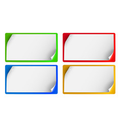 Set of banners background for advertising vector