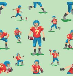 soccer footballer teamleader captain or vector image