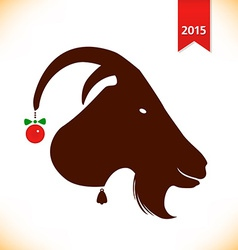 Year of the goat design vector