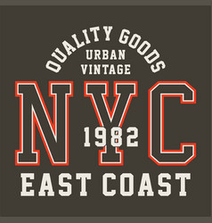 quality goods urban vector image