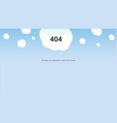 Day web master oops error 404 vector