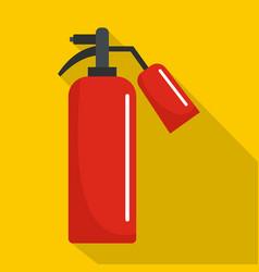 extinguisher icon flat style vector image