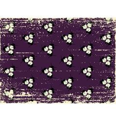 japanese grunge pattern vector image