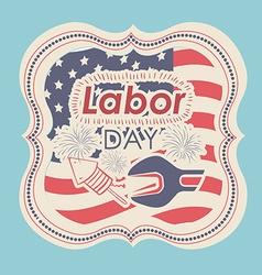Labor day design vector